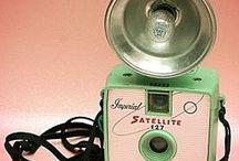 Vintage Cameras, Clocks & Radios