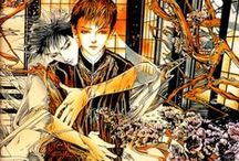 Manga / Art by favorite manga artists & Japanese artists who frequently work in manga designing covers, splash pages, etc.