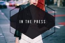 IN THE PRESS / bloggers, editorial, instagram repost, and press featuring adelyn rae