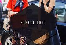 STREET CHIC / STREET STYLE INSPIRATION