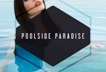 Poolside Paradise // SS 2015 / check out our website for available styles, www.adelynrae.com