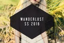 Wanderlust // SS 2016 / check out our website for available styles, www.adelynrae.com
