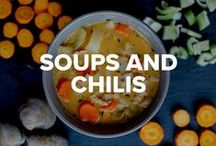 Healthy Soups and Chilis / Few things are more comforting than a hearty bowl of homemade soup or chili. Make these healthy recipes to warm up on a cold day or ease a case of the sniffles.  / by Beachbody