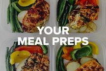 Your Meal Preps / Get inspired by our healthy #fitfam with these delicious and creative meal prep ideas!  / by Beachbody
