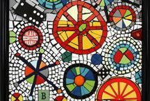 ART...Mosaic mantle / MOSAICS