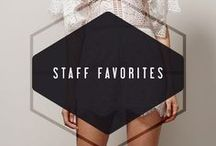 STAFF FAVORITES / CHECK OUT OUR WEBSITE FOR AVAILABILTY, WWW.ADELYNRAE.COM