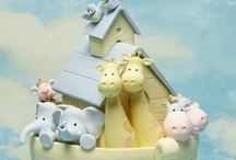 Baby Shower Cakes / by Sharon Burchall