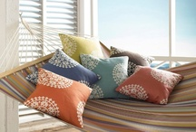 Outdoor Fabrics / A collection of #outdoor fabrics.