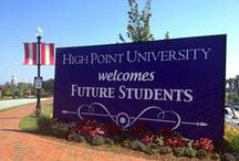 High Point University Admissions / High Point University NC | Best Colleges in the South / by High Point University