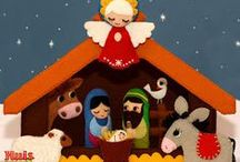Sewing - Patterns, Christmas, Nativity / by Julia Timmons