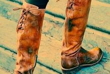 Shoes, boots..