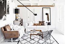 Organic Modern Living Rooms