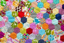 Paper piecing / Hand sewn Patchwork