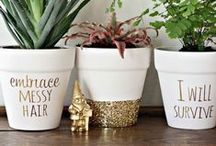 Dripping in Gold / Gold home decor and accent pieces