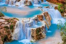 Beautiful Waterfall Photos / Let's chase the most wonderful waterfalls around the globe on your family vacation. Get the latest in family travel destinations, ideas and tips at MyFamilyTravels.com.  / by MyFamilyTravels.com