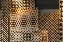 Branding   Interior Design, Navy, Magenta, Brass
