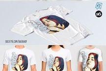 DaZa Shop (S6) / Get my art works (Art prints, T-shirts, iPhones cases ecc.) on Society6