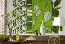 Kreative Wandgestaltung / Ob mit aufgemalten Streifenbordüren oder edel liniertem Putz: Mit unseren kreativen Tipps gelingt die Wandgestaltung selbst Hobbymalern!
