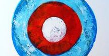 Chromaticnaut. Acrylic/Collage