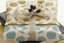 Give / Gift giving tips, packaging, gift wrapping, perfect gifts / by Shannon Royal