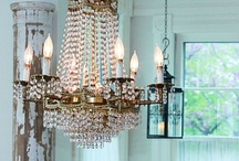 chic home decor  / can you tell i like metallics? / by Kirsten Kuehn