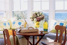 breakfast nooks + dining rooms / by Amy Wells