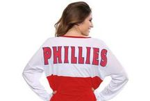 Women's Wear / Women's clothing available online and at the Majestic Clubhouse Store, located at Citizens Bank Park in Philadelphia.  / by Philadelphia Phillies