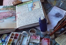 Creative Journaling / I have to find some way to dump all this stuff out of my brain or the consequences will be dire for all. A journal is a good start.