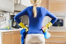 Clean / Tips on cleaning your home / by Shannon Royal