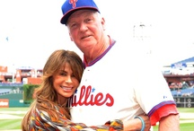 Celeb Sightings at CBP / When celebrities in movies, music and more visit Citizens Bank Park / by Philadelphia Phillies
