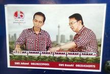Gubernatorial Campaign / Jakarta Gubernatorial Election campaign in 2012.