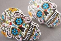 Sugar Skulls / Creepy doodad voodoo
