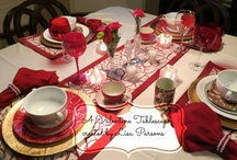 Tablescapes created by ME! / My tablescapes created by me
