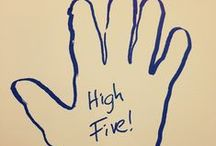 High Five / This board is dedicated to @cnnr, who makes me smile every. single. day.