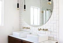 BATHROOM / Ideas for an ideal bathroom. Bathroom inspiriation, bathroom ideas, bathroom DIY, bathroom decor, bathroom interior, badrumsinspo, badrumsinredning
