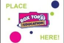 Box tops / by Becky Moreland