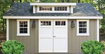 Garden Shed, He Shed, She Shed, We Shed...Outbuildings /  Garden shed, playhouse, garage, office, studio, chicken coop, backyard oasis, and an occasional corn crib.
