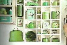 Collections! / What do you collect?  Adding a little interest and personal style to your home.