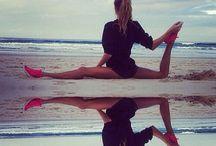 Gymnastics / # Rhythmic Gymnastics # Acrobatics # Aerial Hoop # Lyra # Pole Dance # Contortion # Flexibility # Split # Dance # Ballet # Yoga # Sport