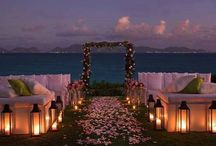 Beach Wedding ❤️ / If I ever get married again, I want it on the beach! / by Kim Sovereen