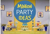 Despicable Me - Minions themed party