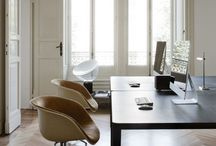 OFFICE / office spaces, cosy office, creative office, clean office, office inspiration