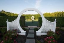 Woody  Design Inspirations / Pergola,Fence,Arbor,Trellis,Bench,Deck,Gate,Gazebo,Outdoor Garden Structure / by Lawncare Plus Design~Landscaping Hardscaping Patios Gardening