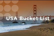 USA Bucket List / Discover this land like never before. Use these bucket list experiences for inspiration while planning your next USA vacation.  / by Visit The USA