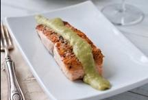salmon / salmon and shrimp