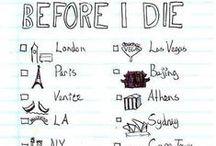 Bucket List (travel) / by Ariana Rogge