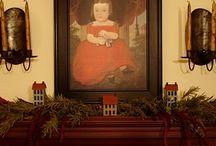 prim colonial art