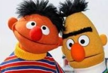 Bert and Ernie ❤ / by Susan Faris