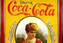 Vintage COCA COLA / Coca Cola reclame en gebruiksvoorwerpen.