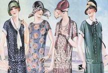 Vintage PATTERNS / Knippatronen uit oude modebladen.